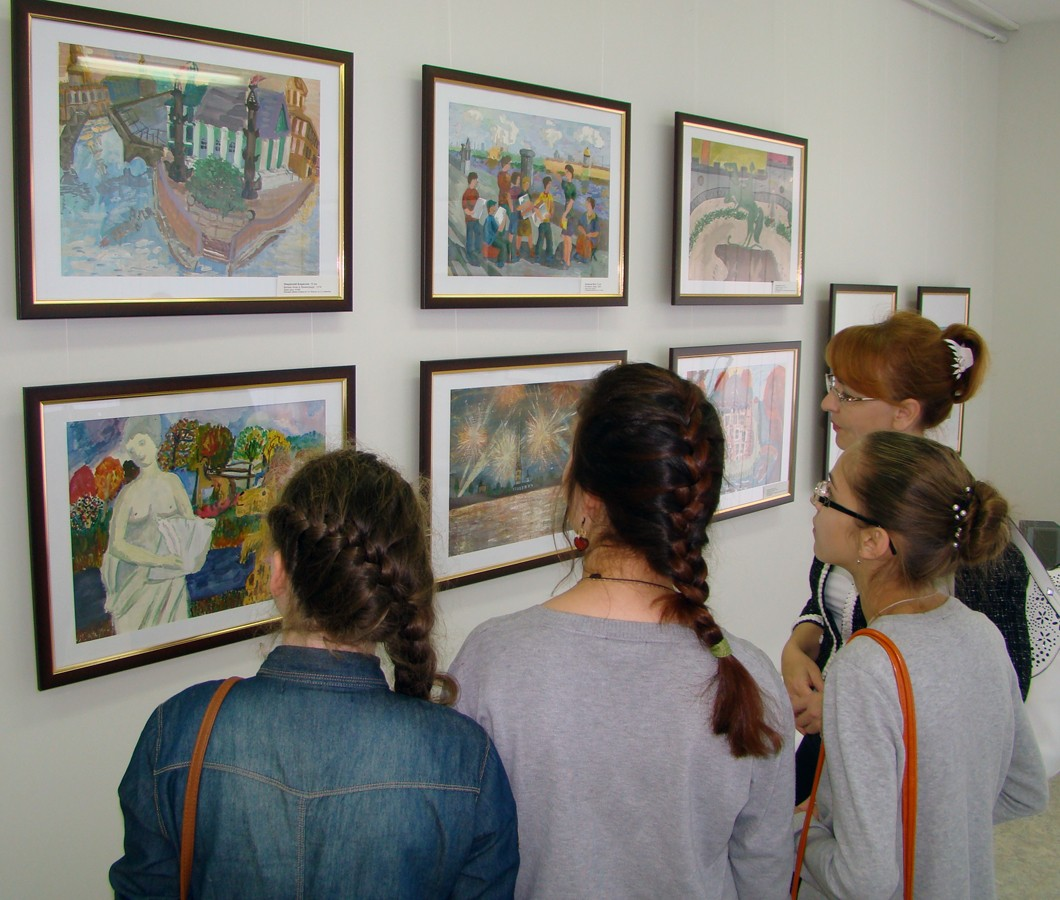 Дети могут бесплатно посетить выставки в Твери