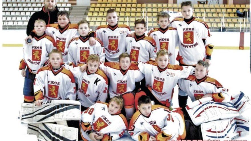 Юные хоккеисты из Ржева завоевали Кубок турнира «Золотые Горки»
