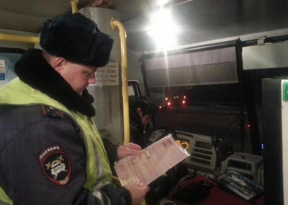 В семи районах Тверской области проверяли пассажирские автобусы