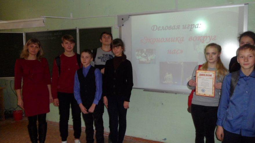 Юные бизнесмены в Сандовском районе сыграли в экономику