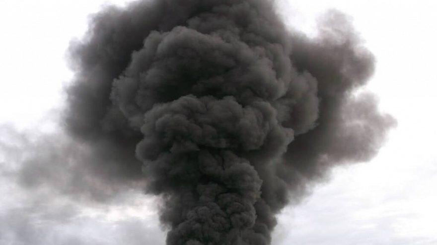 В Твери незаконно сжигали битумно-полимерную изоляцию