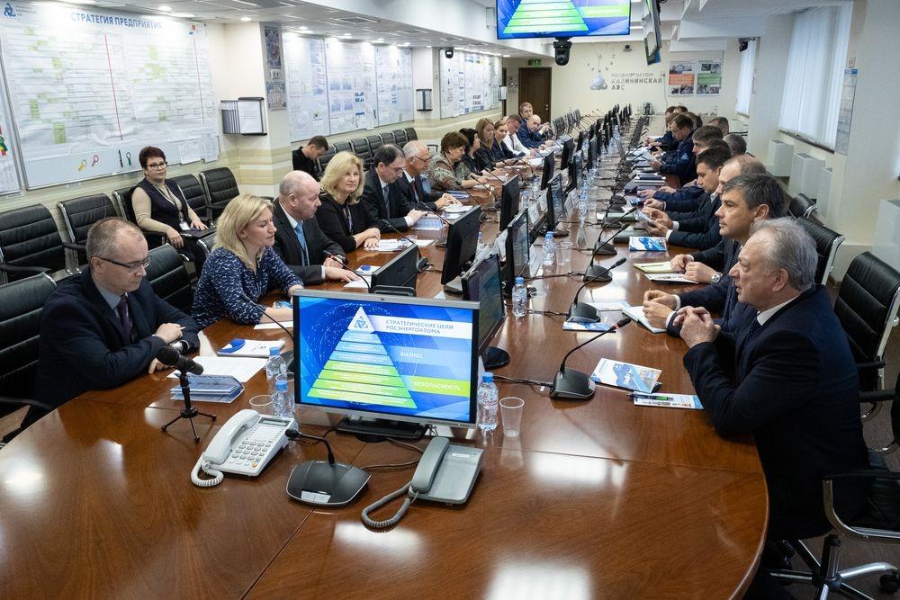 Международные эксперты оценили готовность Калининской АЭС к миссии OSART МАГАТЭ