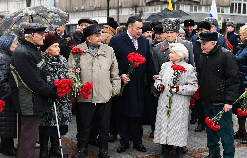 Игорь Руденя встретился с ветеранами Великой Отечественной войны