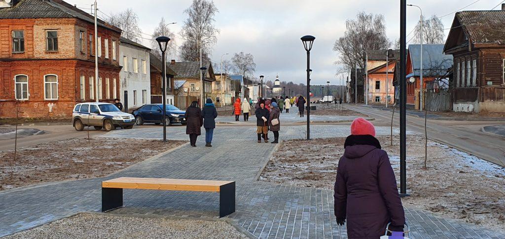 В Осташковском городcком округе появилось новое место для отдыха