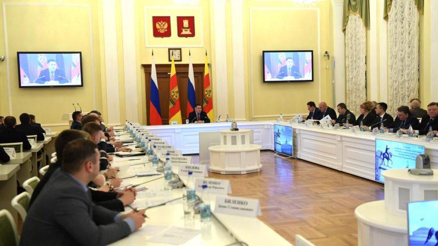 В правительстве региона обсудили реализацию Послания Президента в Тверской области