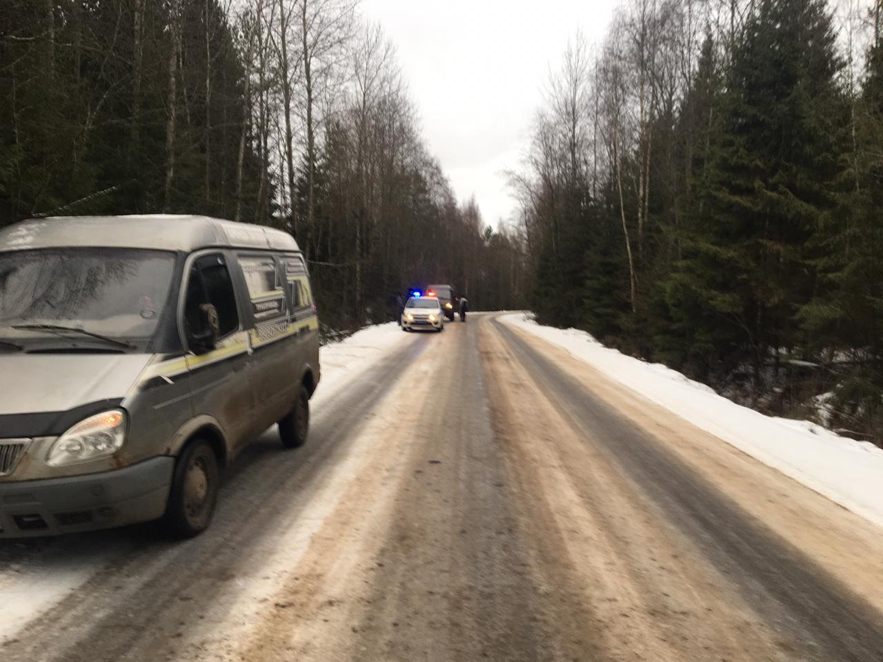 Еще один автомобиль съехал в кювет и опрокинулся в Тверской области