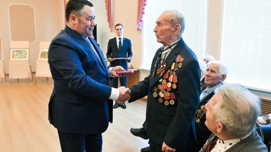 Ветераны Тверской области получили юбилейные медали «75 лет Победы»