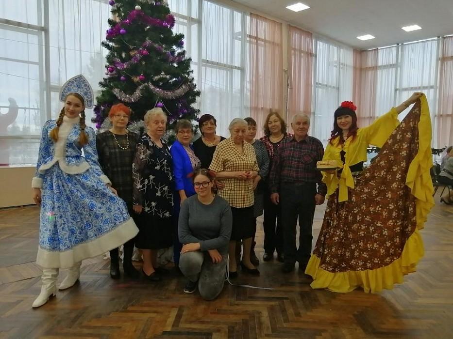 В Лихославле задорно встречали Старый Новый год