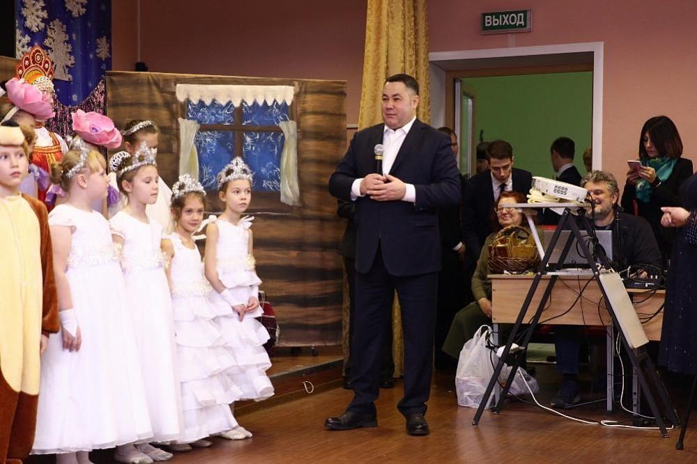 В Тверской епархиальной православной школе отметили Рождество