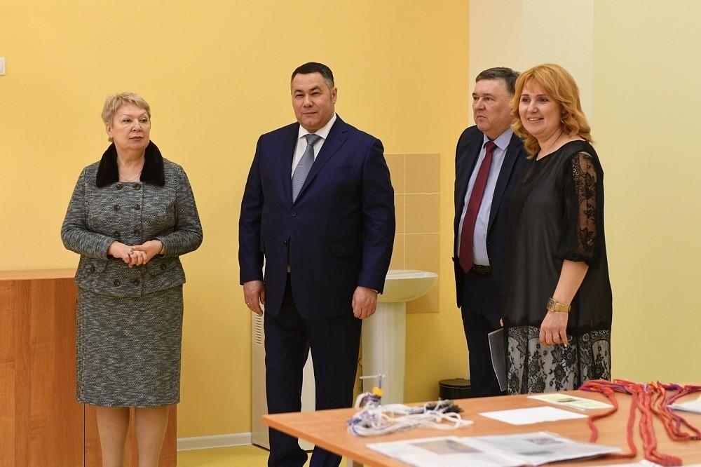 Игорь Руденя отмечен в рейтинге «Губернаторская повестка» в связи с визитом в регион министра просвещения
