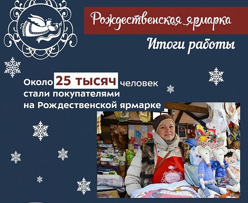 Рождественскую ярмарку в Твери посетили 25 тысяч человек