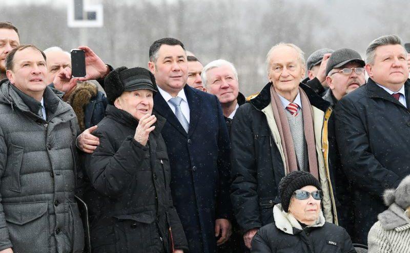 В Тверской области встает во весь рост солдат-победитель