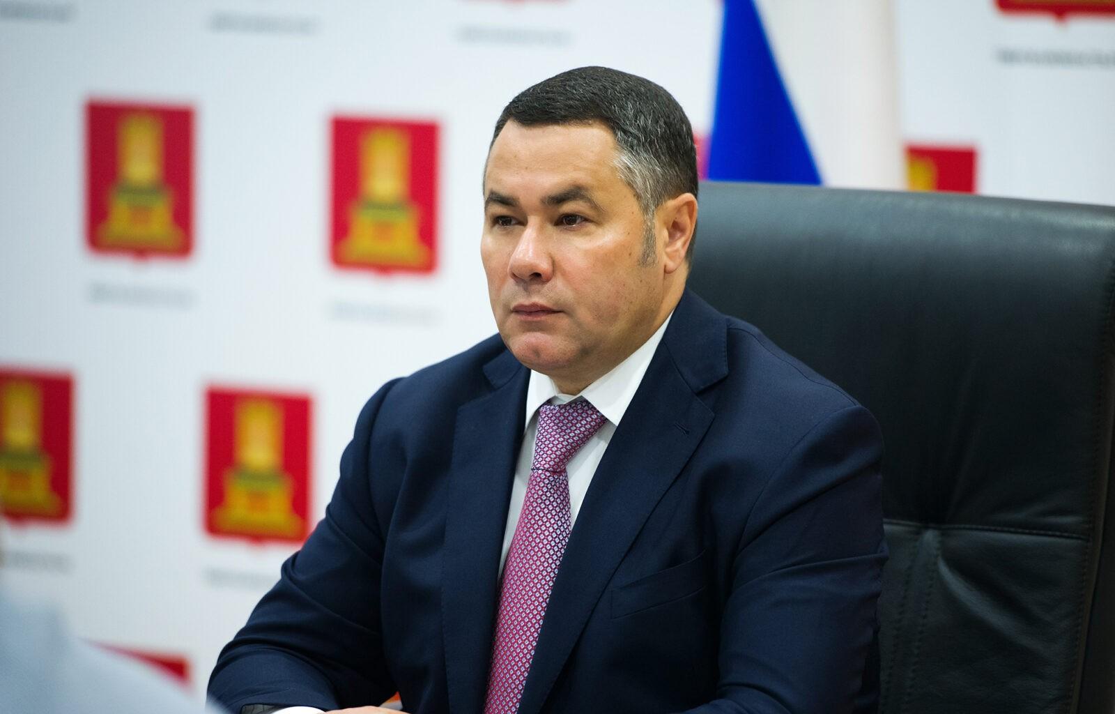 Тверской губернатор Игорь Руденя вошел в состав президиума Государственного совета РФ