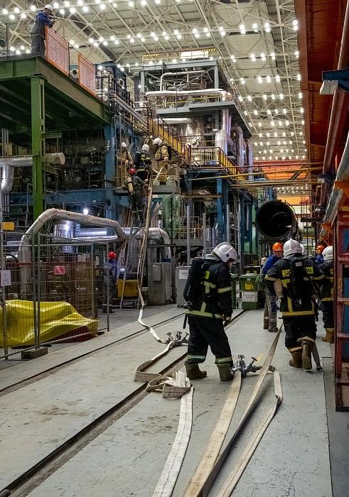 Калининская АЭС и МЧС провели первые в 2020 году совместные противоаварийные учения