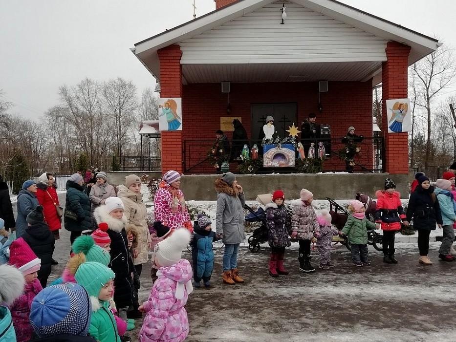 В Вышневолоцком округе встретили Рождество
