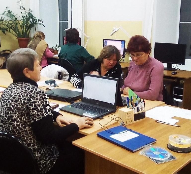 В Калязине пенсионеров обучат компьютерной грамотности