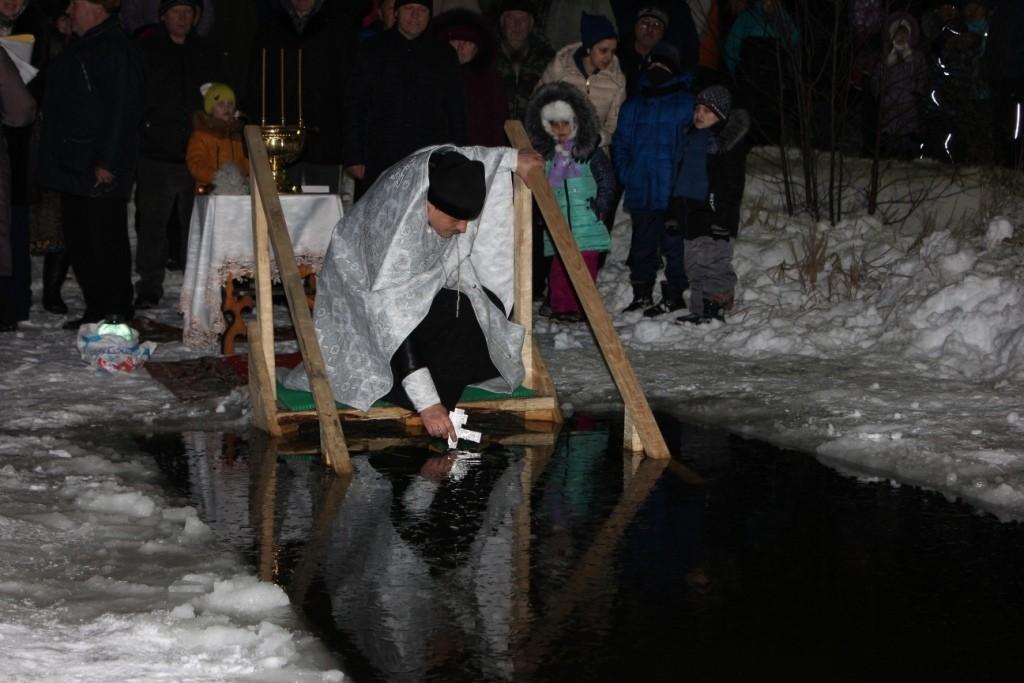 Как правильно окунаться на Крещение
