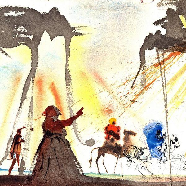 Выставка «Сальвадор Дали. Священное послание» проходит в Твери