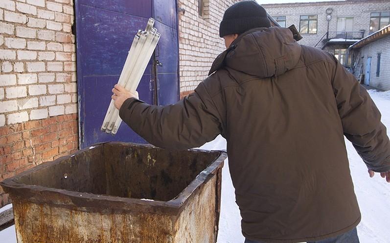 ТСЖ Тверской области не организовало место сбора опасных ламп