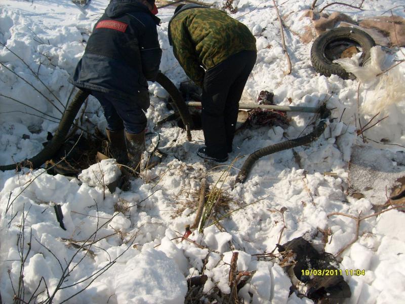 Жители Тверской области похитили 47 тонн топлива из нефтепровода
