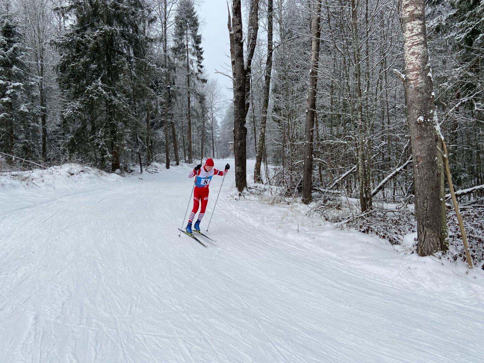 В Тверской области проходят лыжные гонки