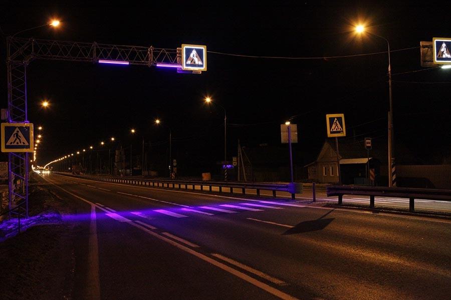 В Твери сделают подсветку на пешеходных переходах