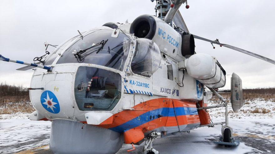 В Тверь из Ржева доставили на вертолете пациента