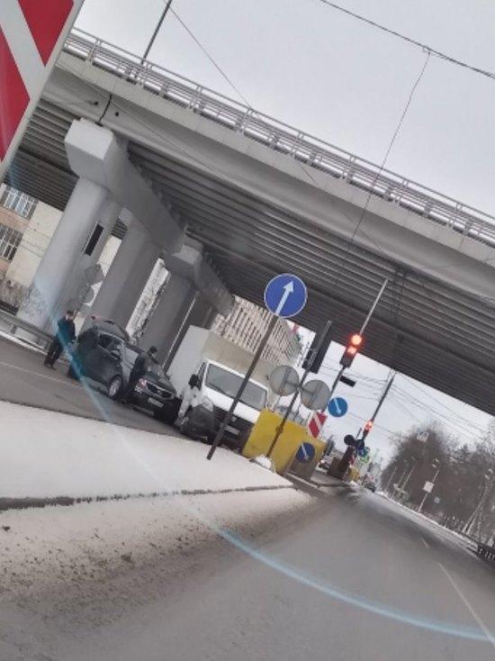 В Твери на въезде в Мигалово произошло ДТП