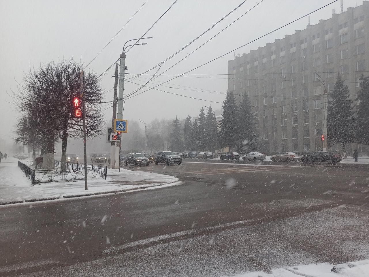 Начало недели в Тверской области будет облачным и скользким