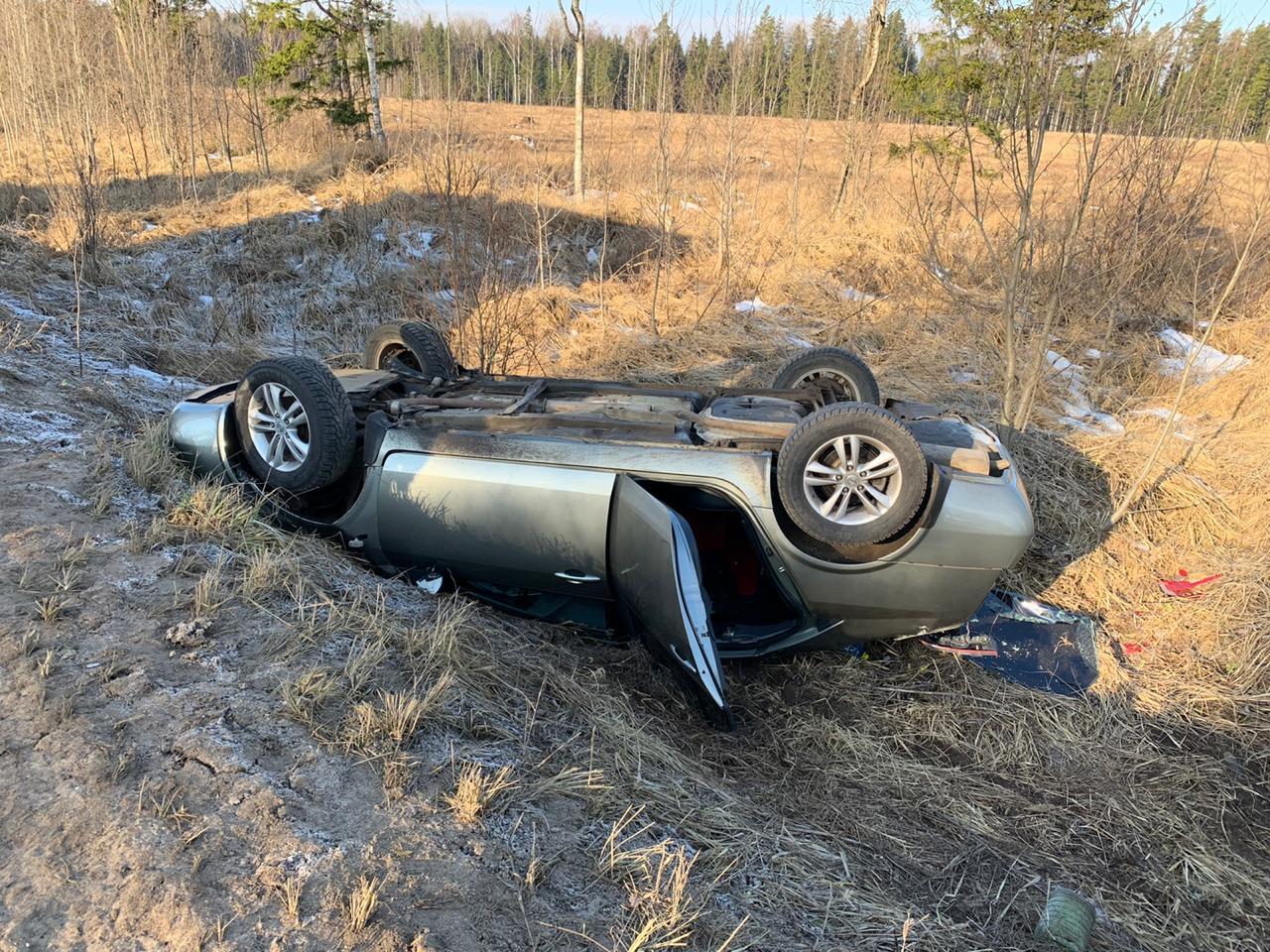 В ДТП на трассе Тверь - Ржев пострадали женщина и ребенок