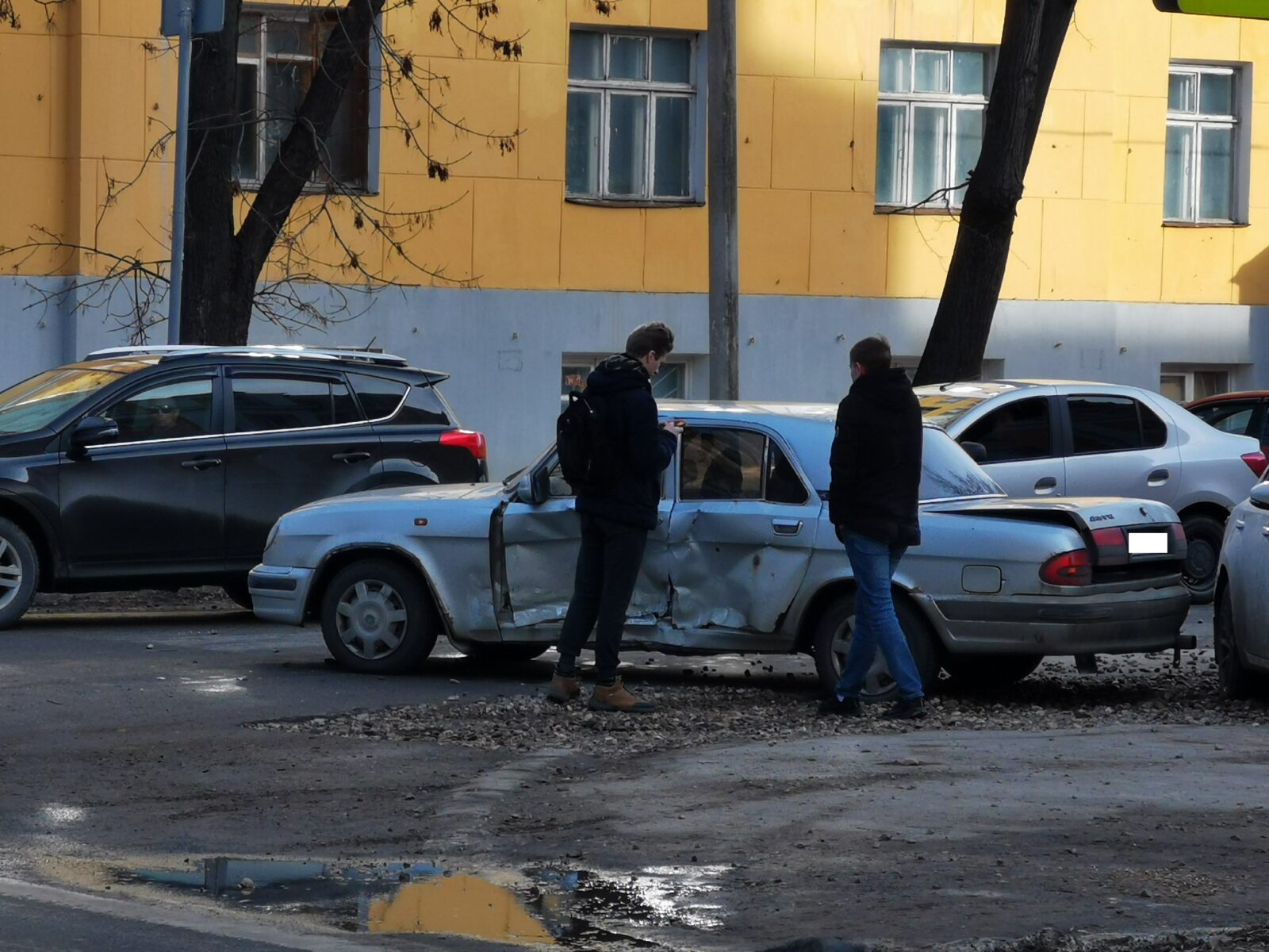 На злополучном перекрёстке в Твери произошло новое столкновение
