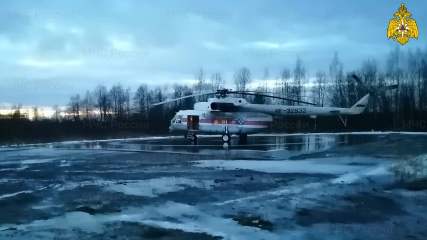 Вертолёт санавиации доставил в Тверь мужчину из Нелидово