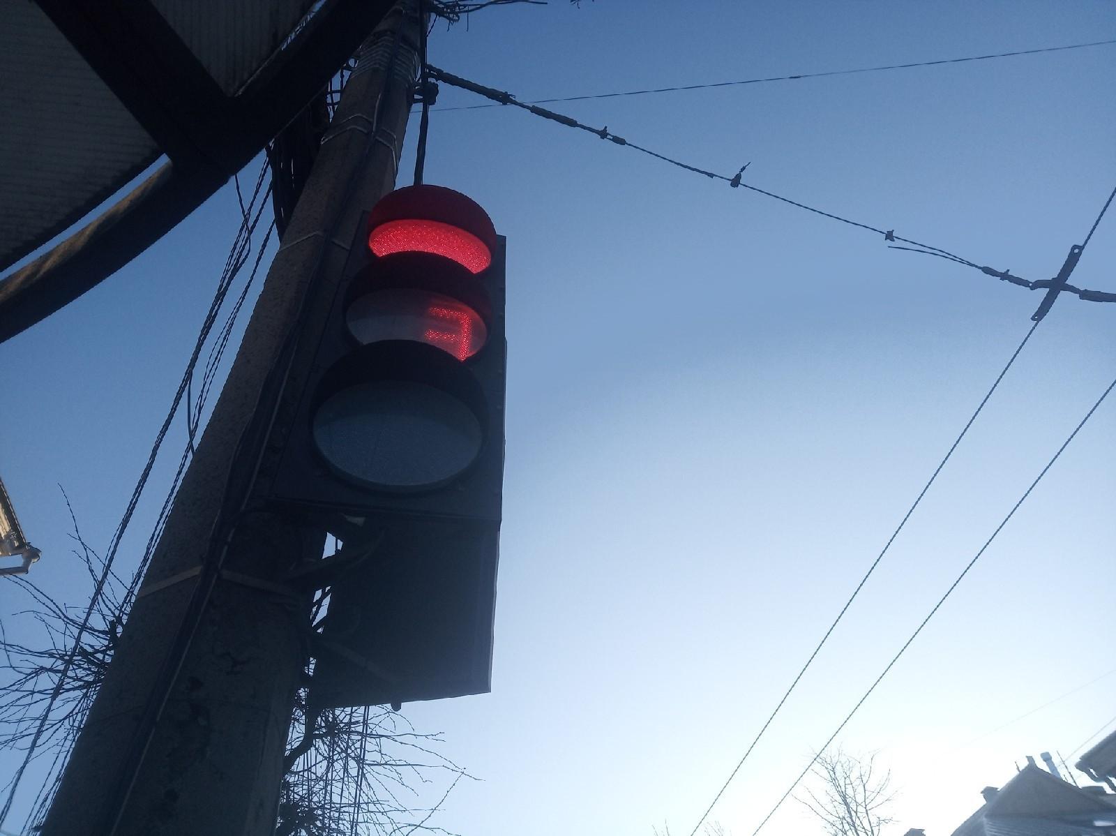 Тверские водители протестуют против новых светофоров