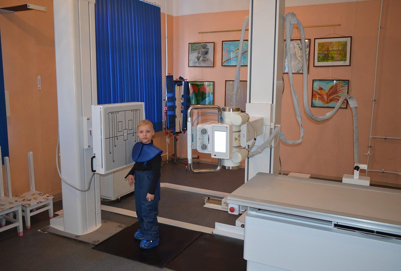 Детские поликлиники в Тверской области оснастили рентгеном