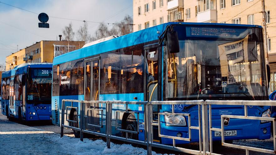 Жители Твери своими обращениями изменили маршруты нового транспорта