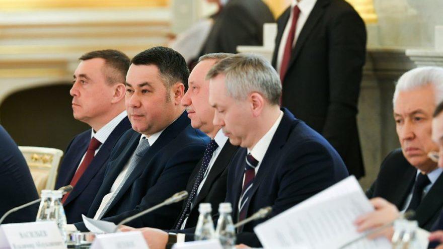 Губернатор Игорь Руденя принял участие в заседании Президиума Госсовета