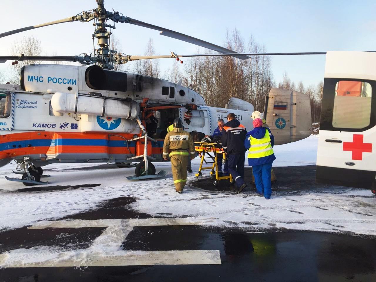 Санавиация спасла жизнь еще двум жителям Тверской области
