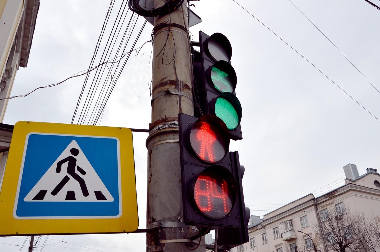 Светофоры на Тверском проспекте работают в новом режиме