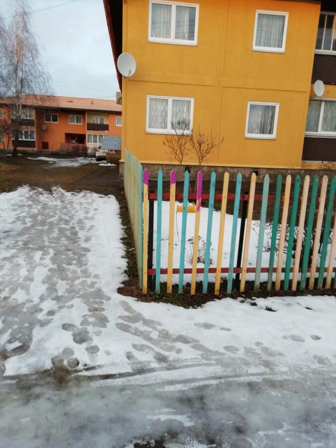 В Тверской области вандалы пришли на детскую площадку с краской