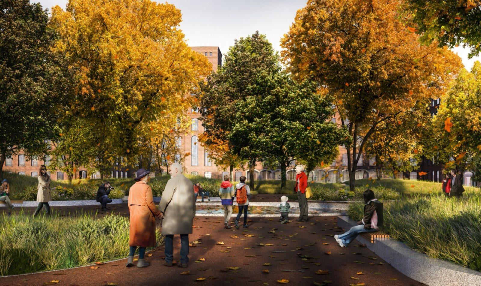 Опубликованы эскизы будущего Морозовского городка в Твери