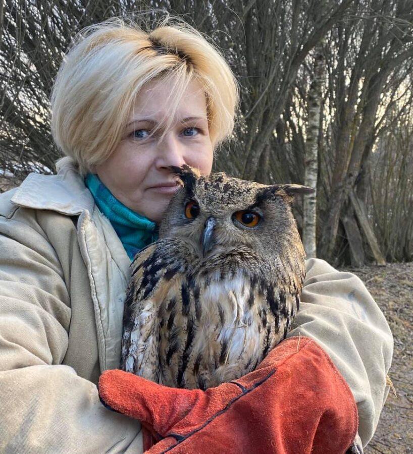 15-летняя сова из Тверской области уехала к жениху