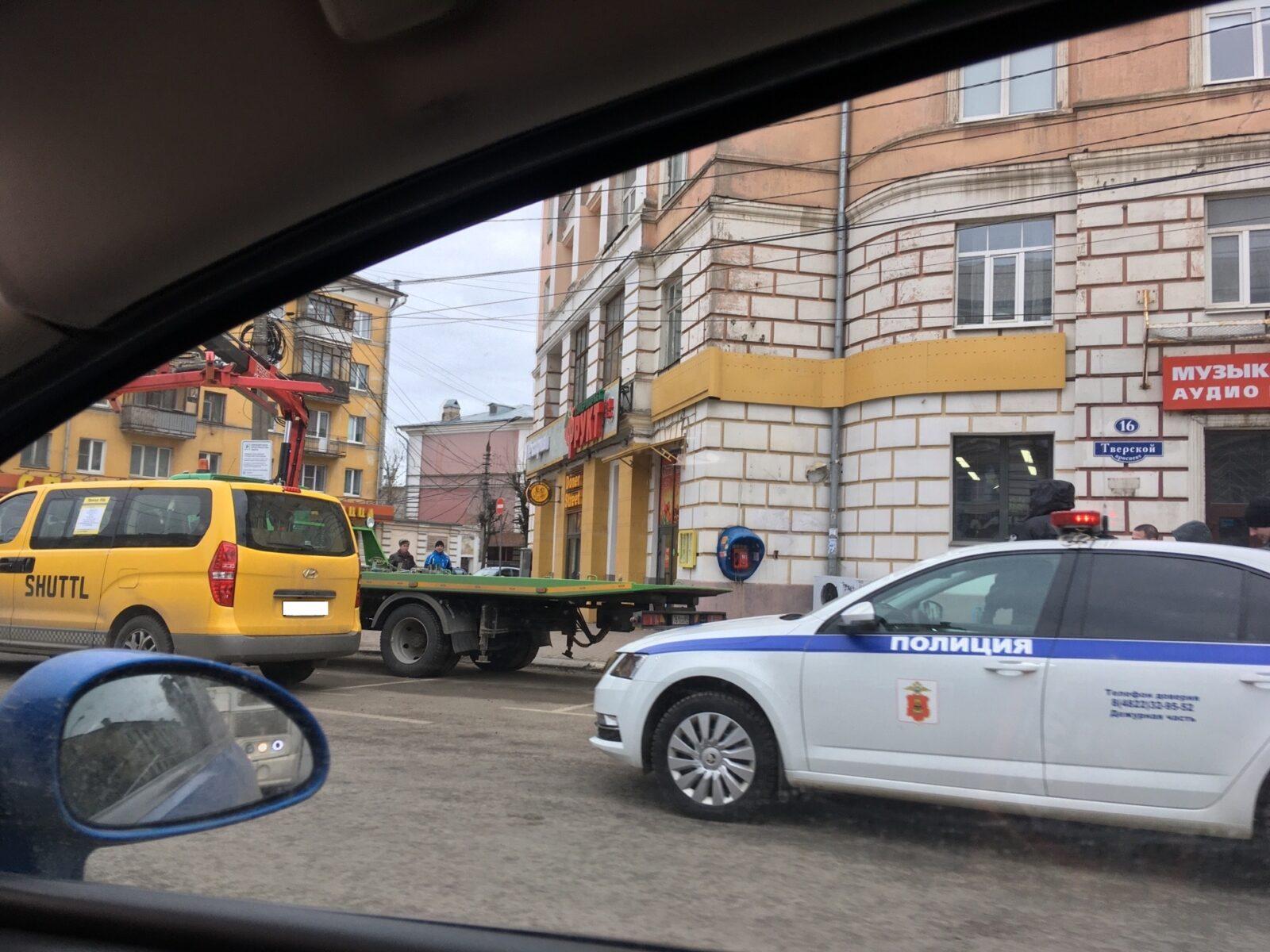 В Твери эвакуировали новые «Шаттлы»