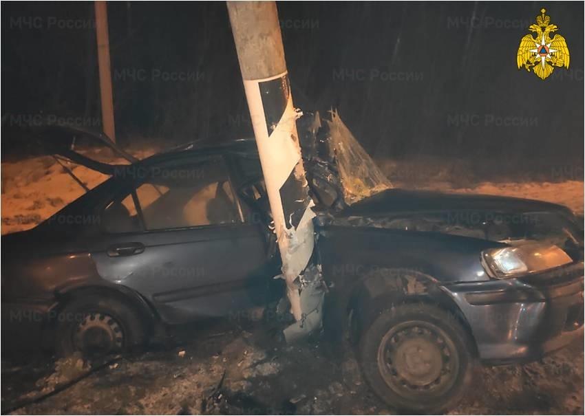 В Тверской области автомобиль сбил 50-летнего пешехода