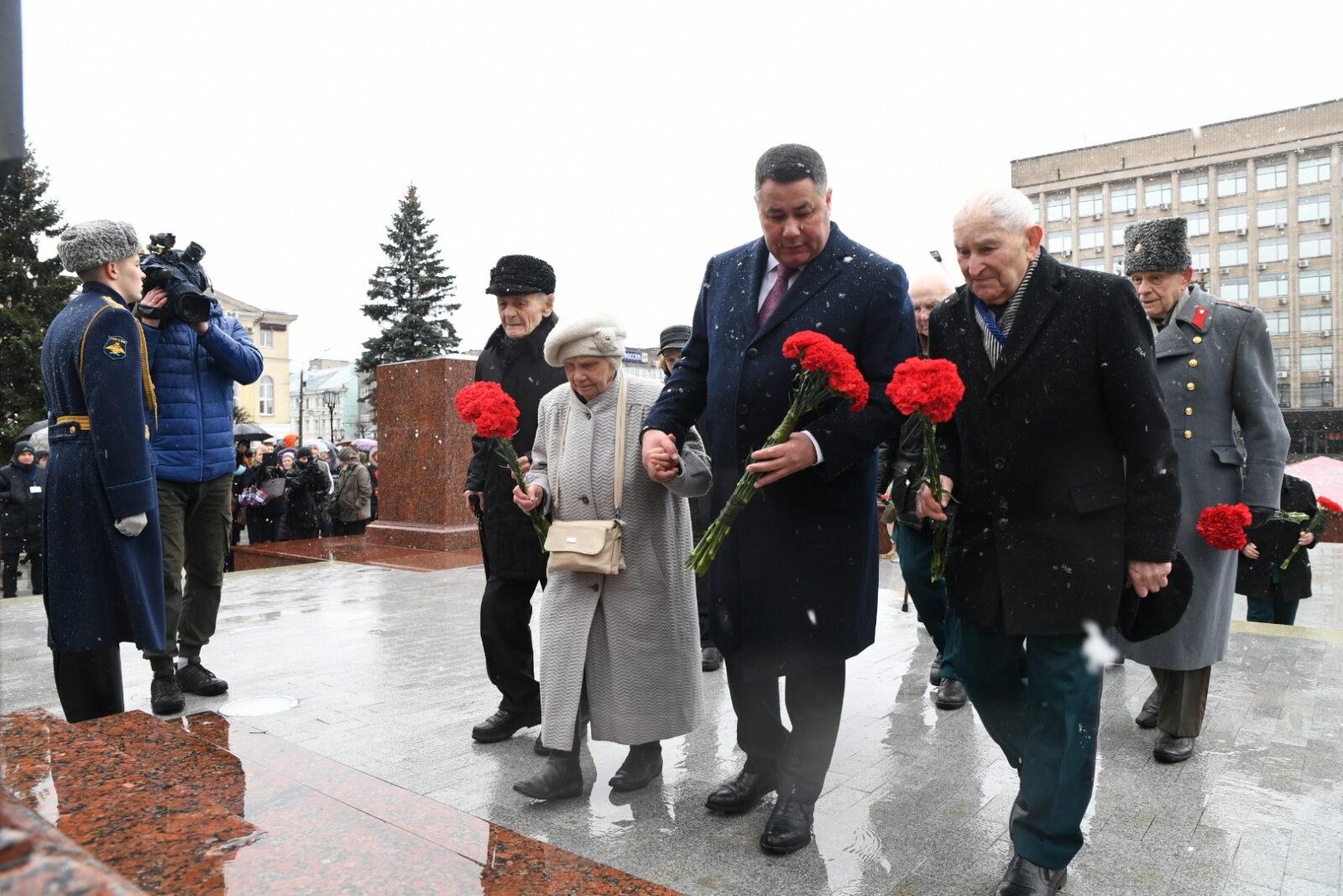 В Твери отмечают День защитника Отечества