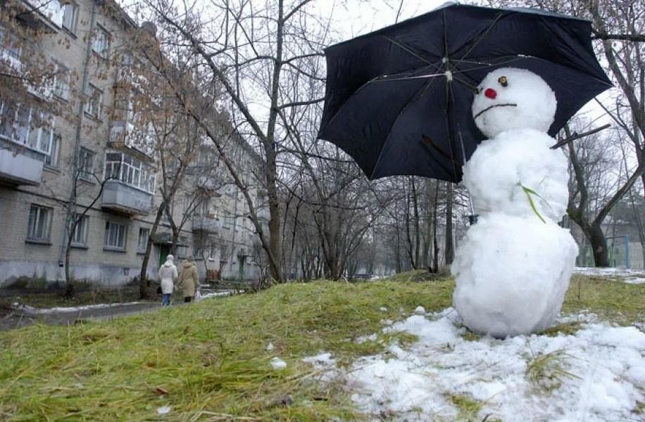 В Твери мороз сменяется аномальным теплом