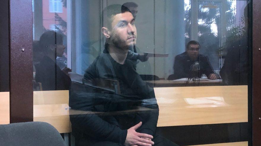 Опубликовано видео из суда, где арестовали участника смертельного ДТП на Волоколамке в Твери