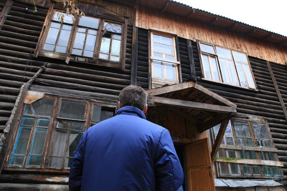 В Тверской области люди шесть лет живут в аварийном доме