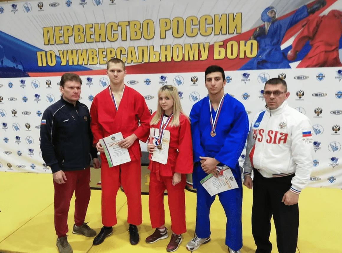 Спортсмены из Тверской области достойно выступили на первенство по универсальному бою