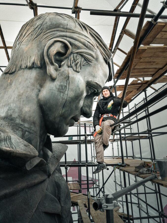 Скульптор Андрей Коробцов рассказал интересные подробности о Ржевском мемориале