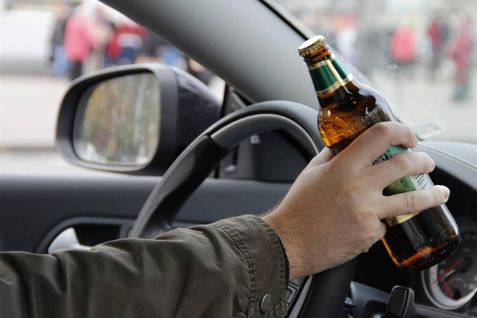 В Твери задержали пьяного водителя без прав